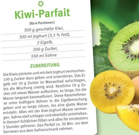 Kiwi-parfait