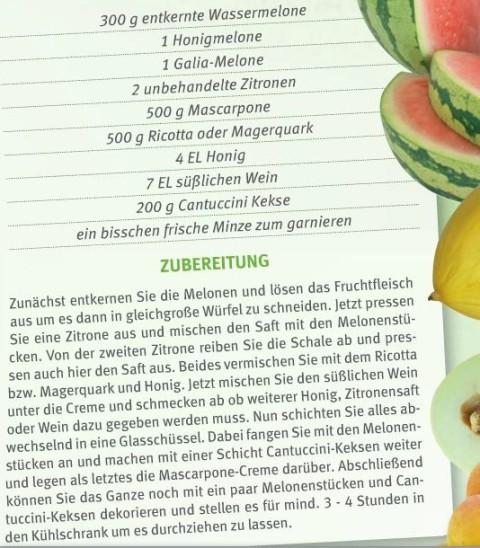 Melonen-Trifle