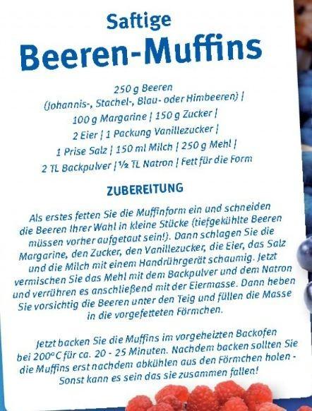Saftige Beeren-Muffins
