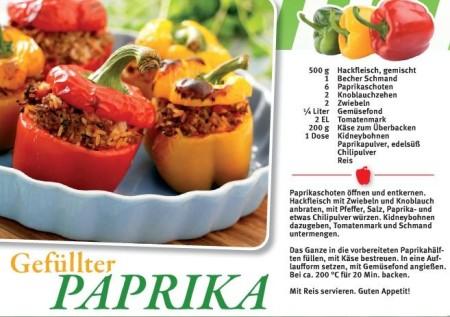 Gefüllter Paprika